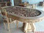 meja ukir relief pedesaan, harga: 085291023157, email: info@amirulgroup.com