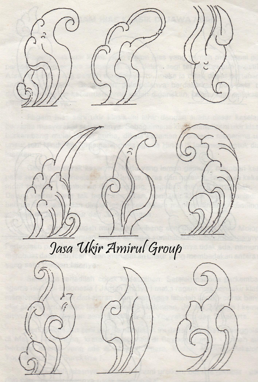 Download design motif » motif ukiran daun sederhana bag 2