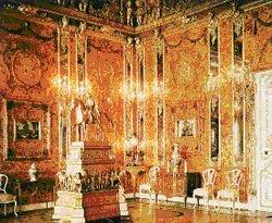 interior Rokoko, Ruang Kaca dari istana Catherine di Tsarskoe Selo